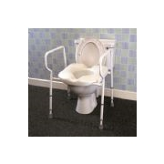 Raised Toilet Seats and Toilet Frames
