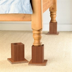 Homecraft Wooden Bed Raisers thumbnail image 1