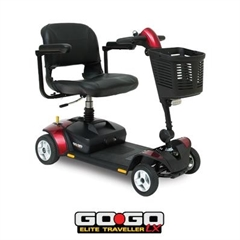 Pride Elite Traveller LX mobility scooter thumbnail image 1