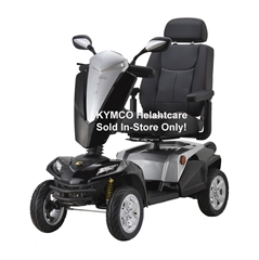 Kymco Black Maxer Mobility Scooter thumbnail image 1