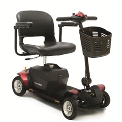 Pride Go Go Elite Traveller Plus 4 Wheel Mobility Scooter thumbnail image 1