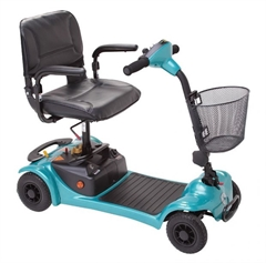 Ultralite 480 Light Weight 4 Wheel Mobility Scooter thumbnail image 1