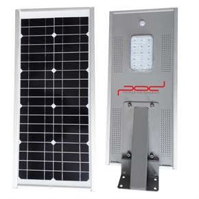 15W Integrated Solar Street Light thumbnail image 1