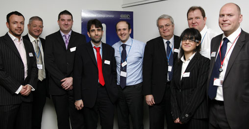 The e-Auction Project Team including SPS Director, Ken Cole